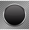 Round black board vector