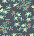 Floral polka dot vector
