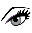 Eye blue vector