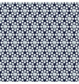 Diamond flowers seamless pattern vector