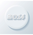 New year paper icon vector