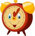 Cartoon alarm clock vector