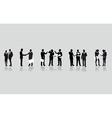 Business people line vector