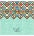 Moroccan template with place for your text vector
