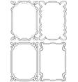 Set of beautiful framework vector