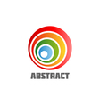 Abstract round design element vector