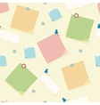 Office supplies seamless pattern background vector