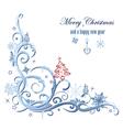 Winter decoration vector