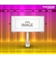 Billboard web page vector