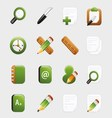 Learning and study icon vector