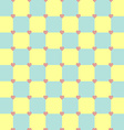 Yellow and turquoise colors pattern with pink vector