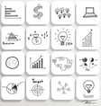 Application icons design set 4 vector