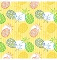 Pineapple seamless pattern vector