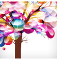 Abstract background tree with branches made of vector