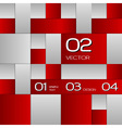 Squares tepmplate vector