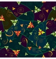 Seamless pattern with clover leaves for stpatricks vector