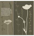 Grey grass vector