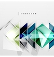Squares and shadows - tech abstract background vector