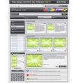 Web design vector