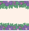 Beautiful floral background with space for text vector