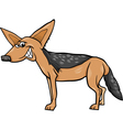 Jackal animal cartoon vector