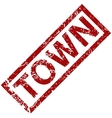 Town rubber stamp vector