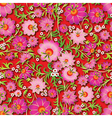 Abstract pink seamless spring floral ornament and vector