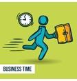 Time management business sketch vector