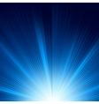 Blue color design with a burst eps 8 vector