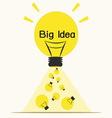 Big ideaidea concept vector