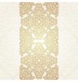 Floral frame background in arabic motif vector