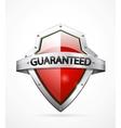Guarantee shield vector