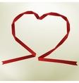 Paper origami heart on elegant background  eps8 vector