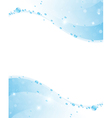 Clear water frame vector