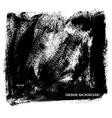 Black grunge background vector