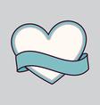 Heart design vector