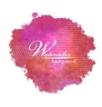 Abstract watercolor spot painted background vector