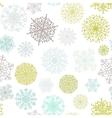 Ornate snowflake seamless background  eps8 vector