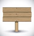 Wooden design vector