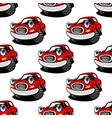 Retro cartoon cars seamless pattern vector