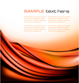 Colorful orange abstract background vector