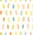 Natural seamless pattern vector