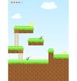Video game location arcade games vector