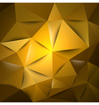 Triangles gold s vector