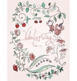 St valentin design card vector