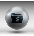 Shopping dollar folder file icon internet symbol vector