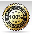 Money back label vector
