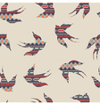 Seamless colorful decorative ethnic pattern with vector