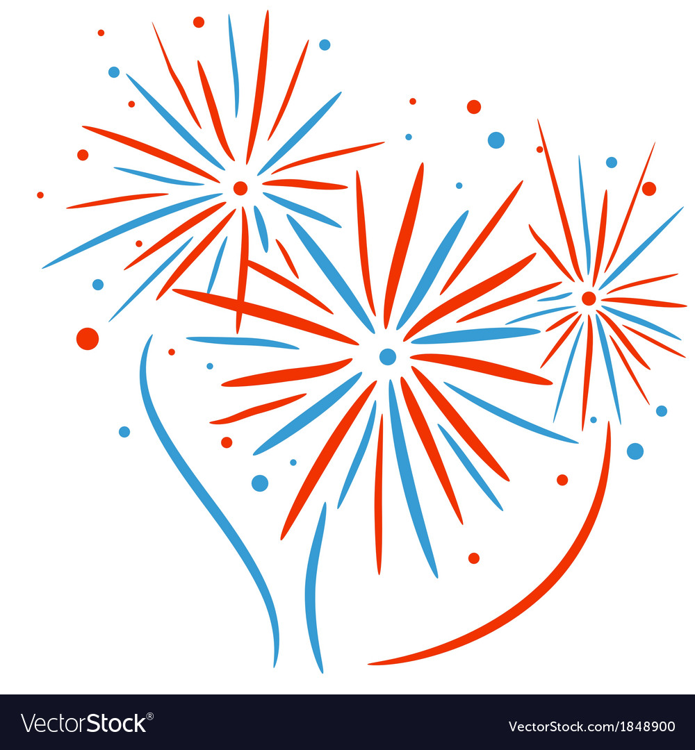Holiday festival firework vector   Price: 1 Credit (USD $1)