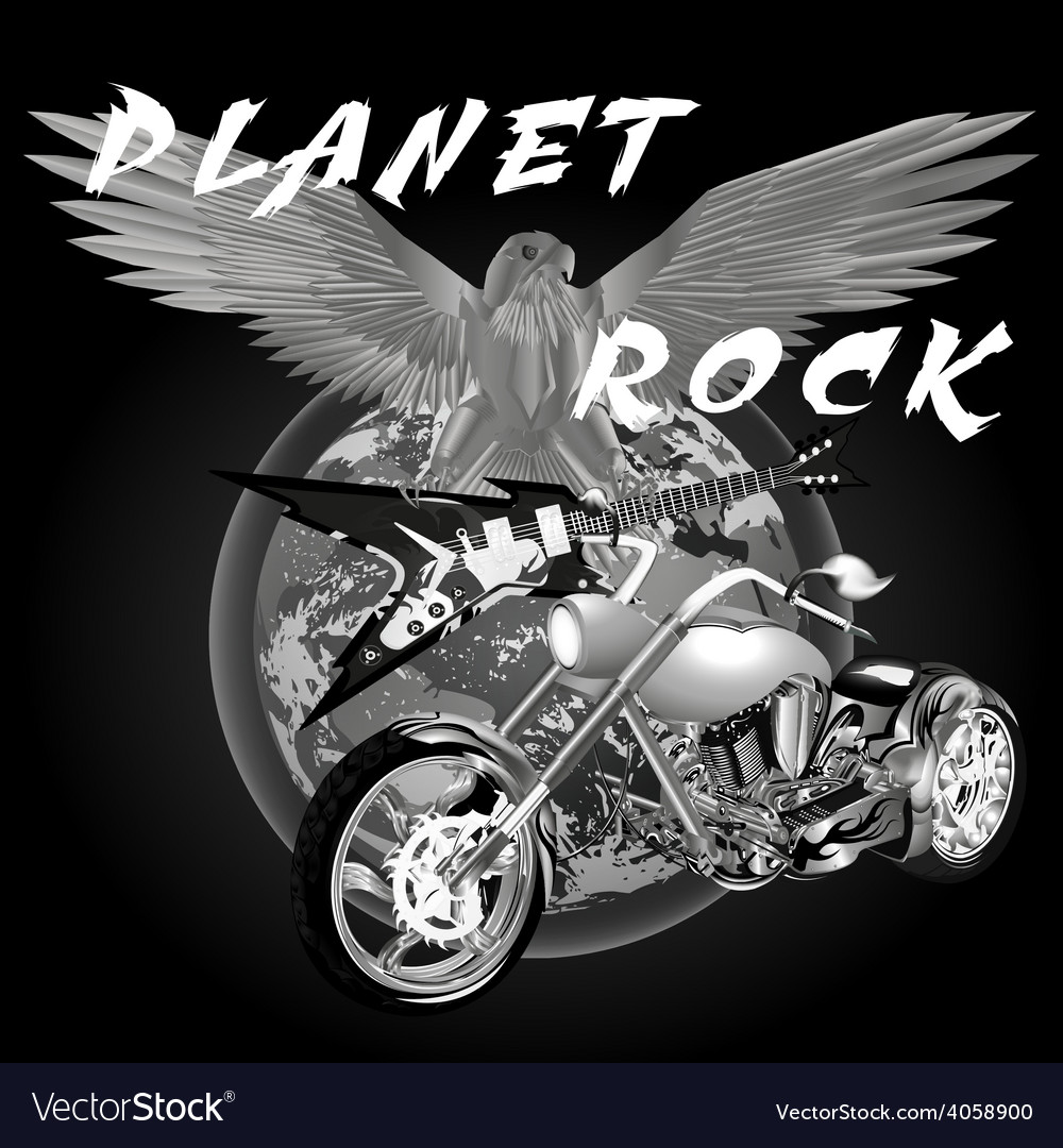 Planet rock vector | Price: 3 Credit (USD $3)